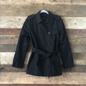 Coach Short Tie-Waist Trench Coat Fall Weather 🍂